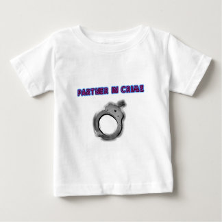 Partner In Crime Left Handcuff Baby T-Shirt