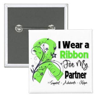 Partner - Lymphoma Ribbon Pinback Buttons