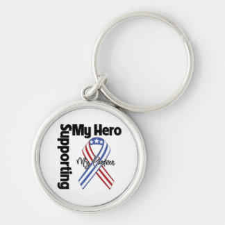 Partner - Military Supporting My Hero Keychain