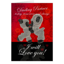 Partner Sheep Valentine's Card
