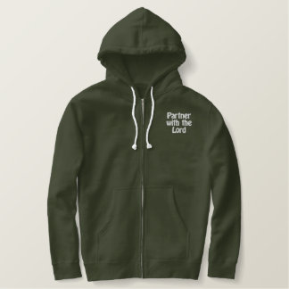 Partner with the Lord Embroidered Hoodie