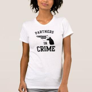 Partners - adentro - crimen camiseta