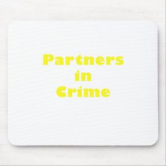 Partners - adentro - crimen alfombrillas de ratón