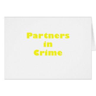 Partners - adentro - crimen felicitaciones