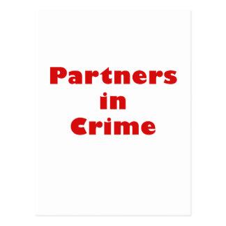 Partners - adentro - crimen tarjetas postales