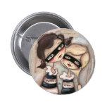 Partners - adentro - el crimen - botón pins