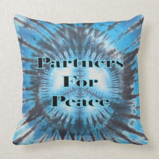 Partners for Peace Throw Pillow