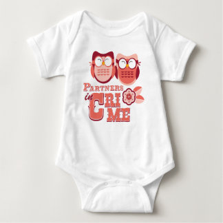 Partners in Crime Baby Bodysuit
