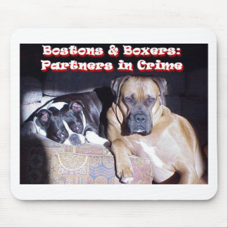 Partners in Crime Mouse Pads