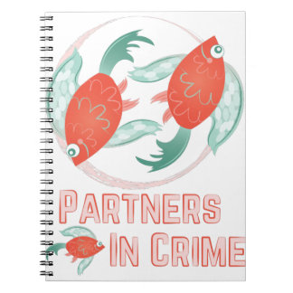 Partners In Crime Notebook