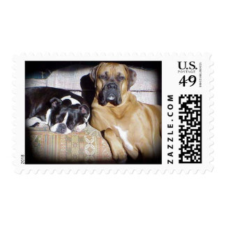 Partners in Crime Postage Stamp