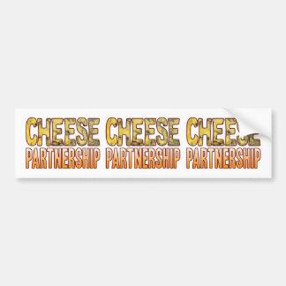 Partnership Blue Cheese Bumper Sticker
