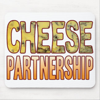 Partnership Blue Cheese Mouse Pad