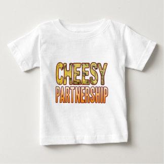 Partnership Blue Cheesy Baby T-Shirt