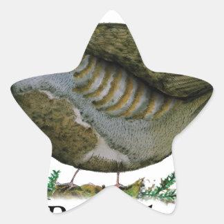 Partridge bird, tony fernandes star sticker