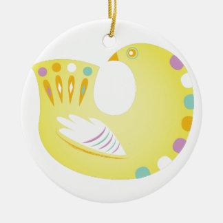 Partridge Ceramic Ornament