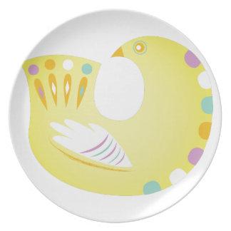 Partridge Dinner Plate