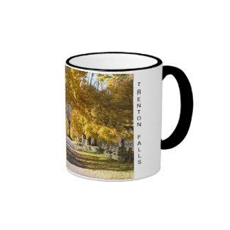 Partridge Hill Rd in Fall Mugs