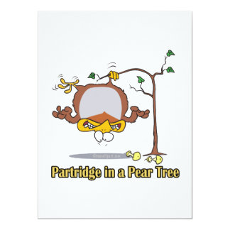 partridge in a pear tree 1st first day christmas card