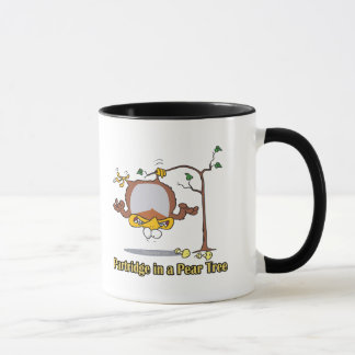 partridge in a pear tree 1st first day christmas mug