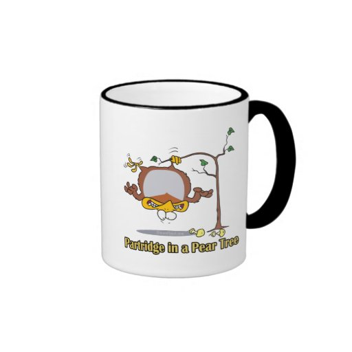 partridge in a pear tree 1st first day christmas coffee mugs