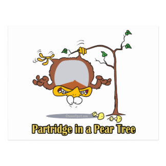 partridge in a pear tree 1st first day christmas postcards