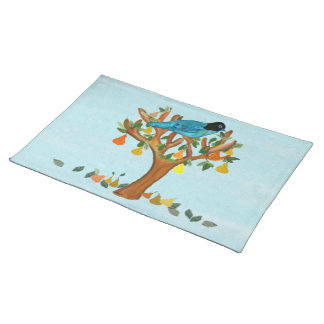 Partridge in a Pear Tree American Mojo Placemats