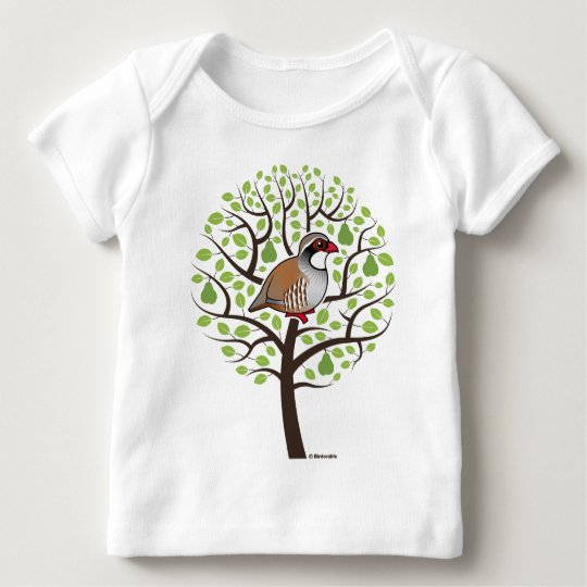 Partridge in a Pear Tree Baby T-Shirt