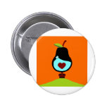 Partridge in a Pear Tree Buttons