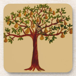 Partridge in a Pear Tree Coaster Set