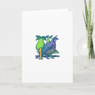 Partridge in a pear tree christmas cards zazzle partridge in a pear tree holiday card m4hsunfo