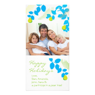 Partridge in a Pear Tree Holiday Photo Card