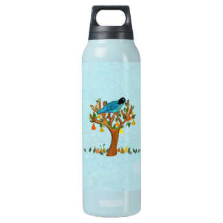 Partridge in a Pear Tree Insulated Water Bottle
