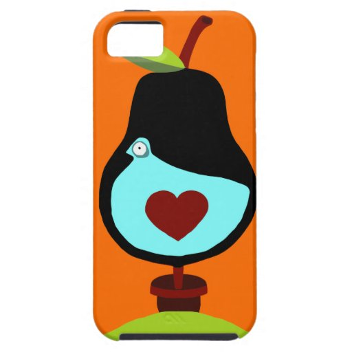 Partridge in a Pear Tree iPhone 5 Covers