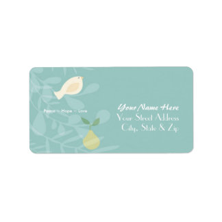 partridge in a pear tree Labels