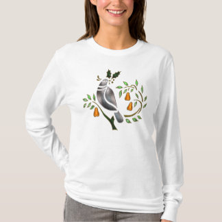 Partridge In A Pear Tree Longsleeve Shirt