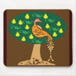 Partridge in a pear tree mouse pad