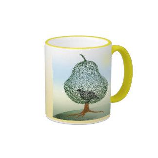 Partridge In A Pear Tree Ringer Coffee Mug