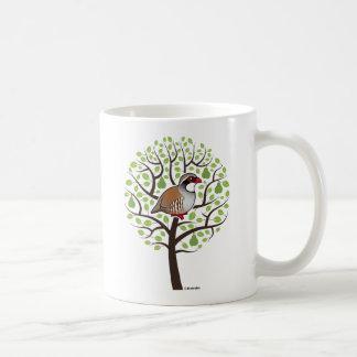 Partridge in a Pear Tree Classic White Coffee Mug