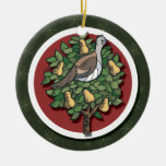 Partridge In A Pear Tree Ornament Christmas Tree Ornaments