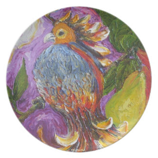 Partridge in a Pear Tree Plate