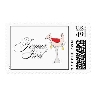 Partridge in a Pear Tree Postage Stamp