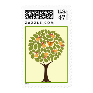 Partridge in a Pear tree Thanksgiving Postage
