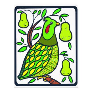 Partridge in Pear Tree Flyer