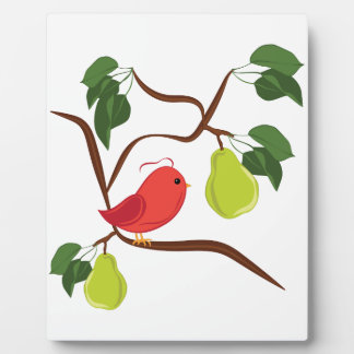 Partridge In Pear Tree Plaque