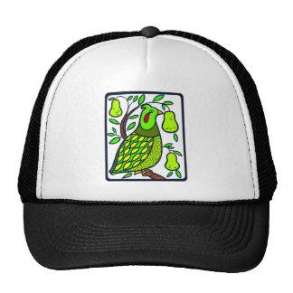 Partridge in Pear Tree Trucker Hat