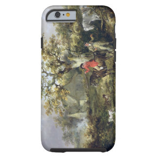 Partridge Shooting (oil on canvas) Tough iPhone 6 Case