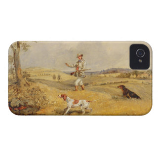 Partridge Shooting (oil on panel) Case-Mate iPhone 4 Case