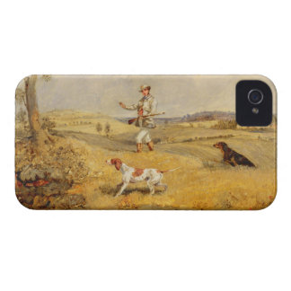 Partridge Shooting (oil on panel) iPhone 4 Case