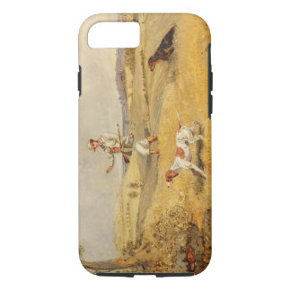 Partridge Shooting (oil on panel) iPhone 8/7 Case